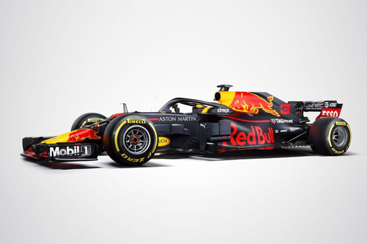 F1 レッドブル・レーシング 2018年のF1世界選手権