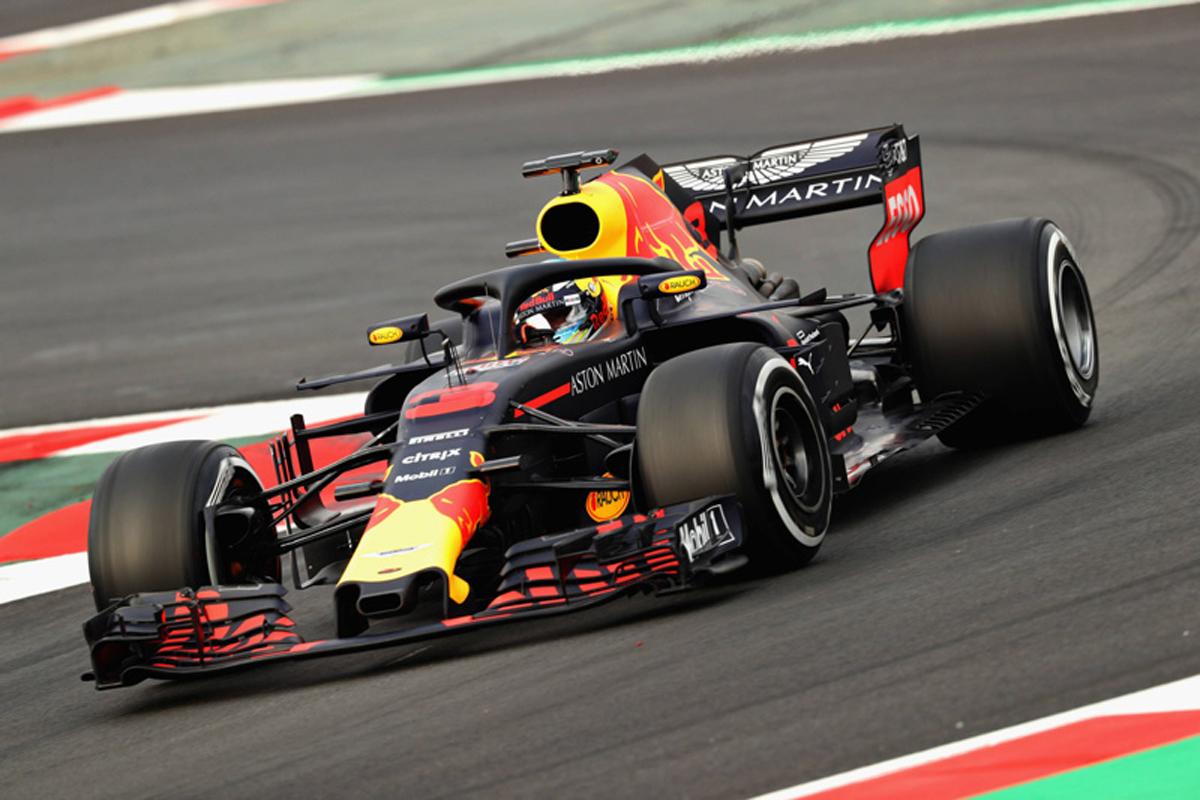 F1 2018年のF1世界選手権 ダニエル・リカルド レッドブル・レーシング