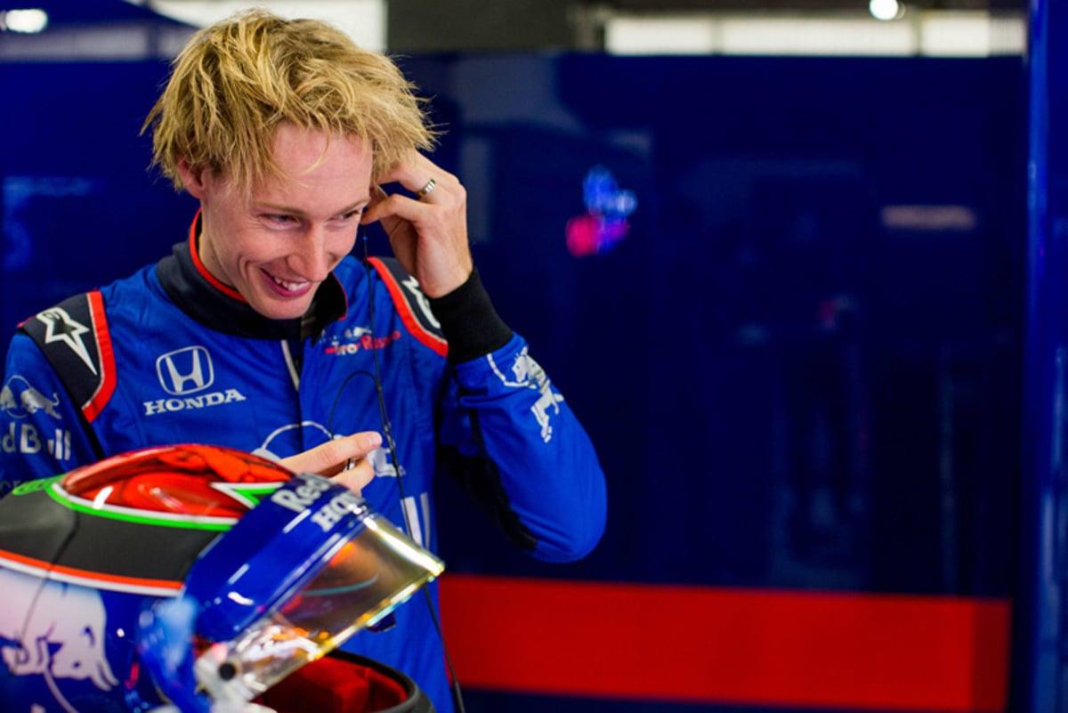 F1 トロロッソ ホンダF1 ブレンドン・ハートレー 2018年のF1世界選手権