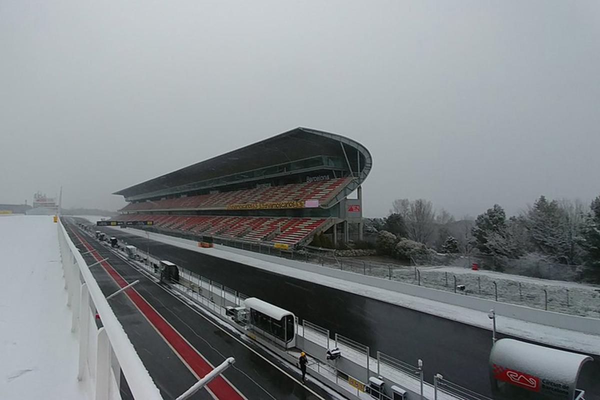F1 カタロニア・サーキット