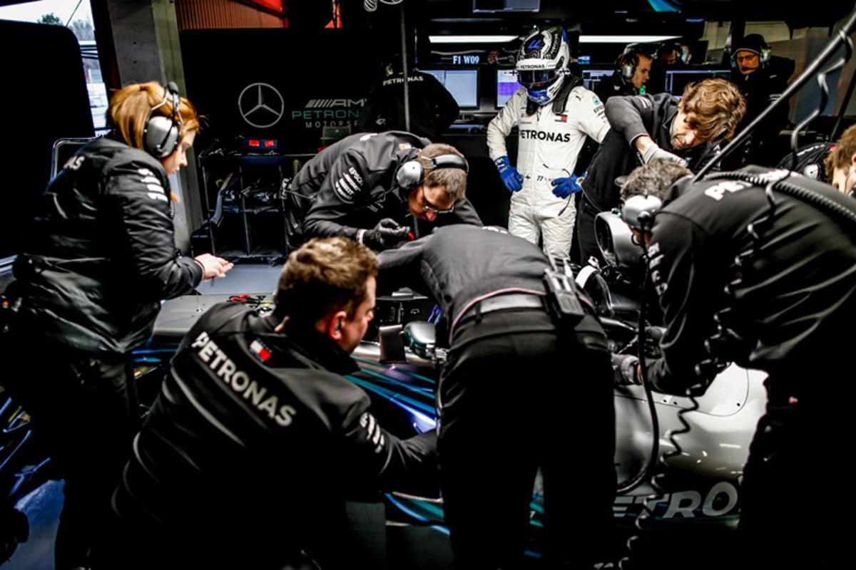 F1 メルセデス ルイス・ハミルトン 2018年のF1世界選手権