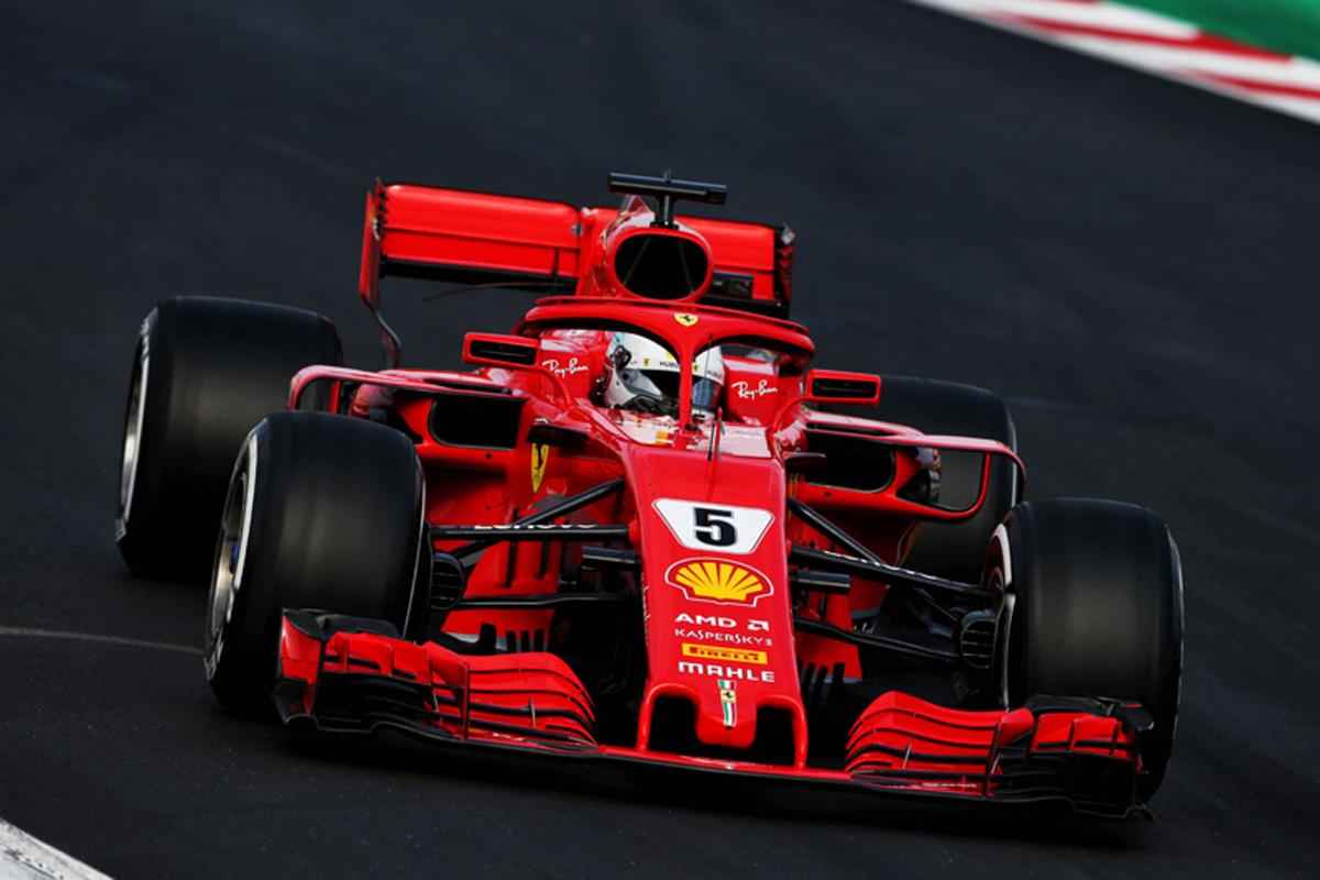 F1 2018年のF1世界選手権 フェラーリ セバスチャン・ベッテル