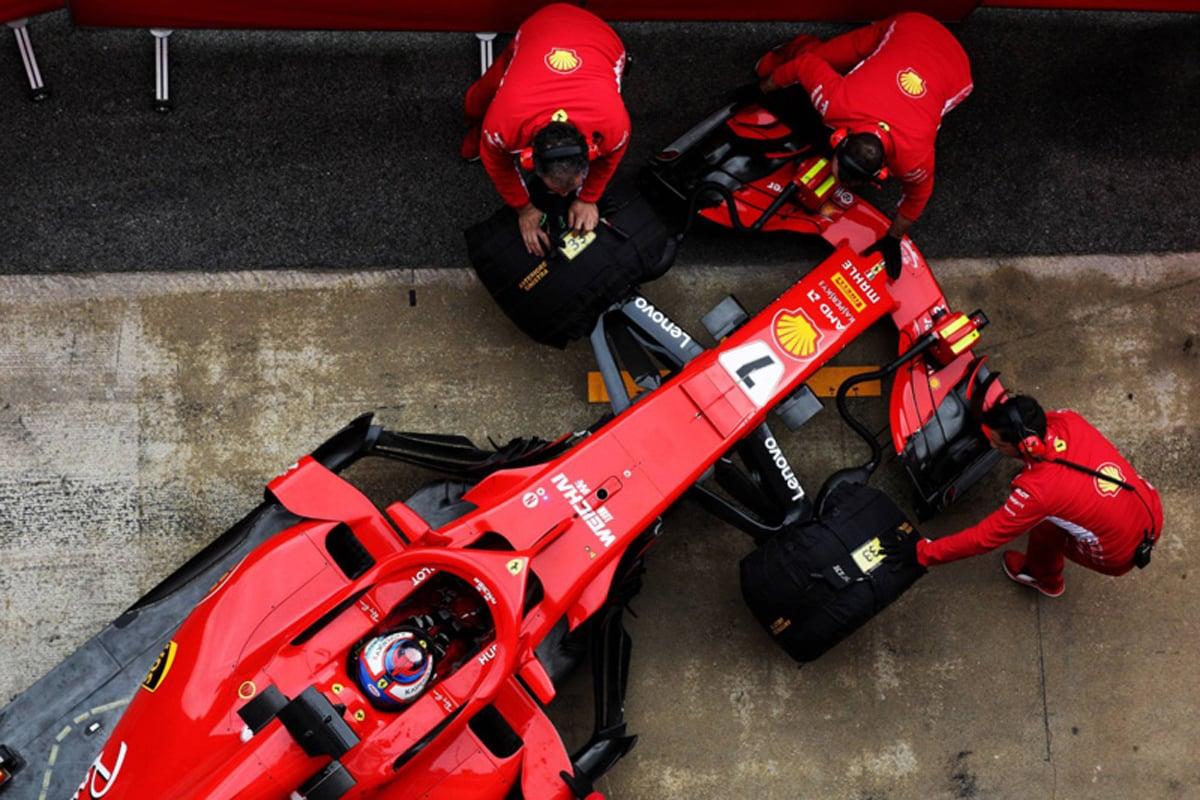 フェラーリ SF71H:バルセロナテスト