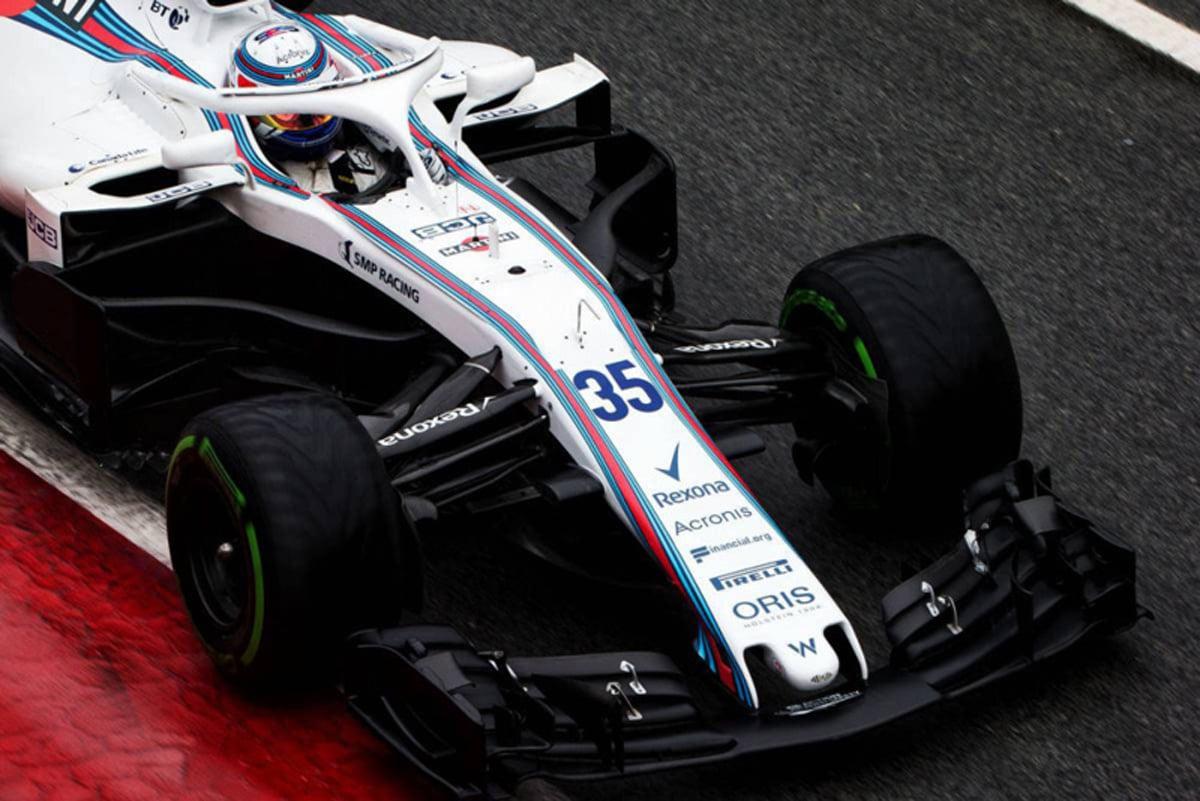 ウィリアムズ FW41:フロント周り