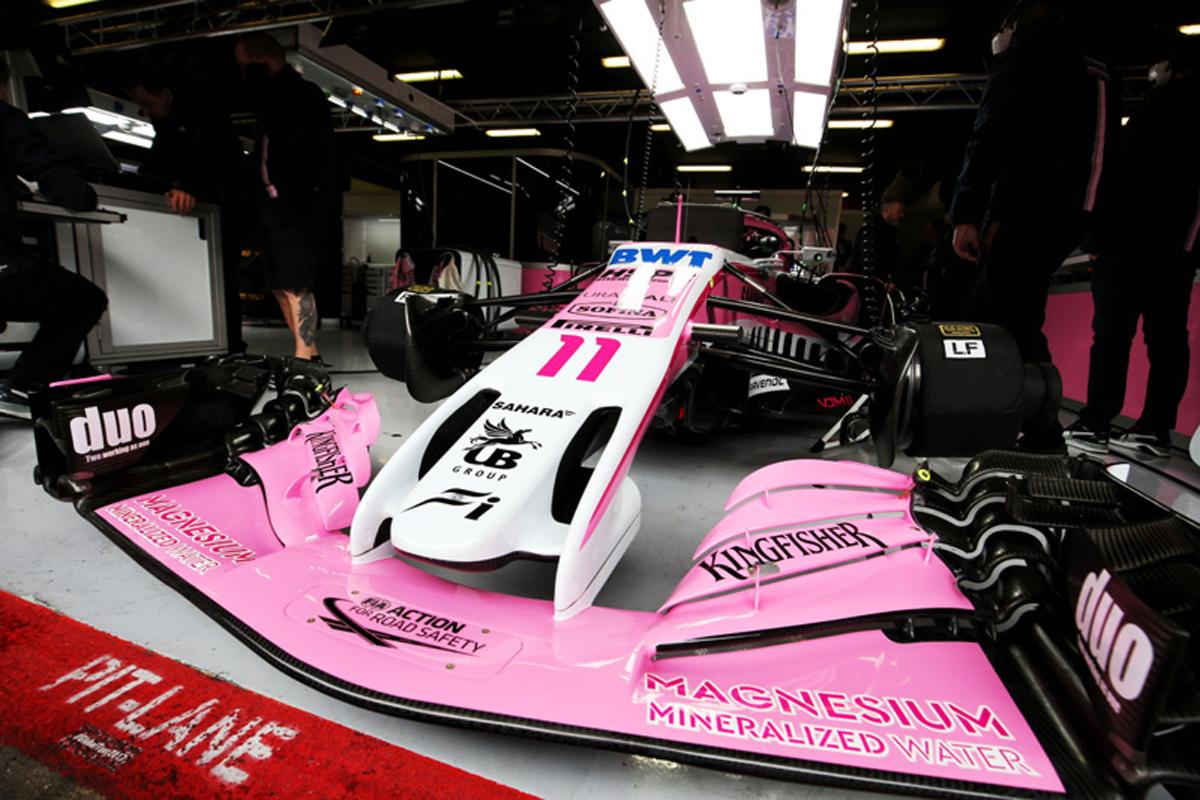 F1 フォース・インディア リッチエナジー 2018年のF1世界選手権