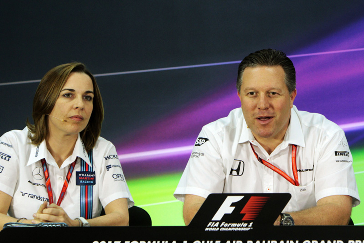 F1 ウィリアムズF1 マクラーレン
