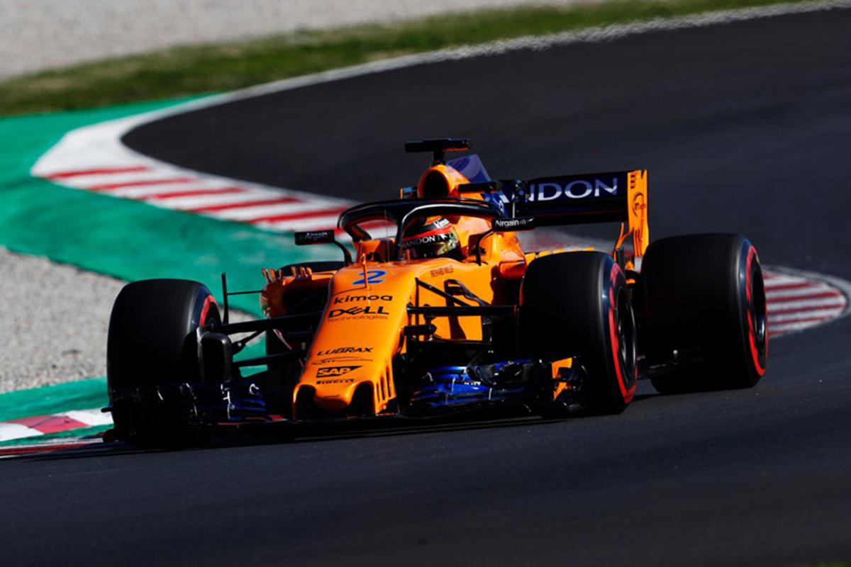 F1 マクラーレン 2018年のF1世界選手権