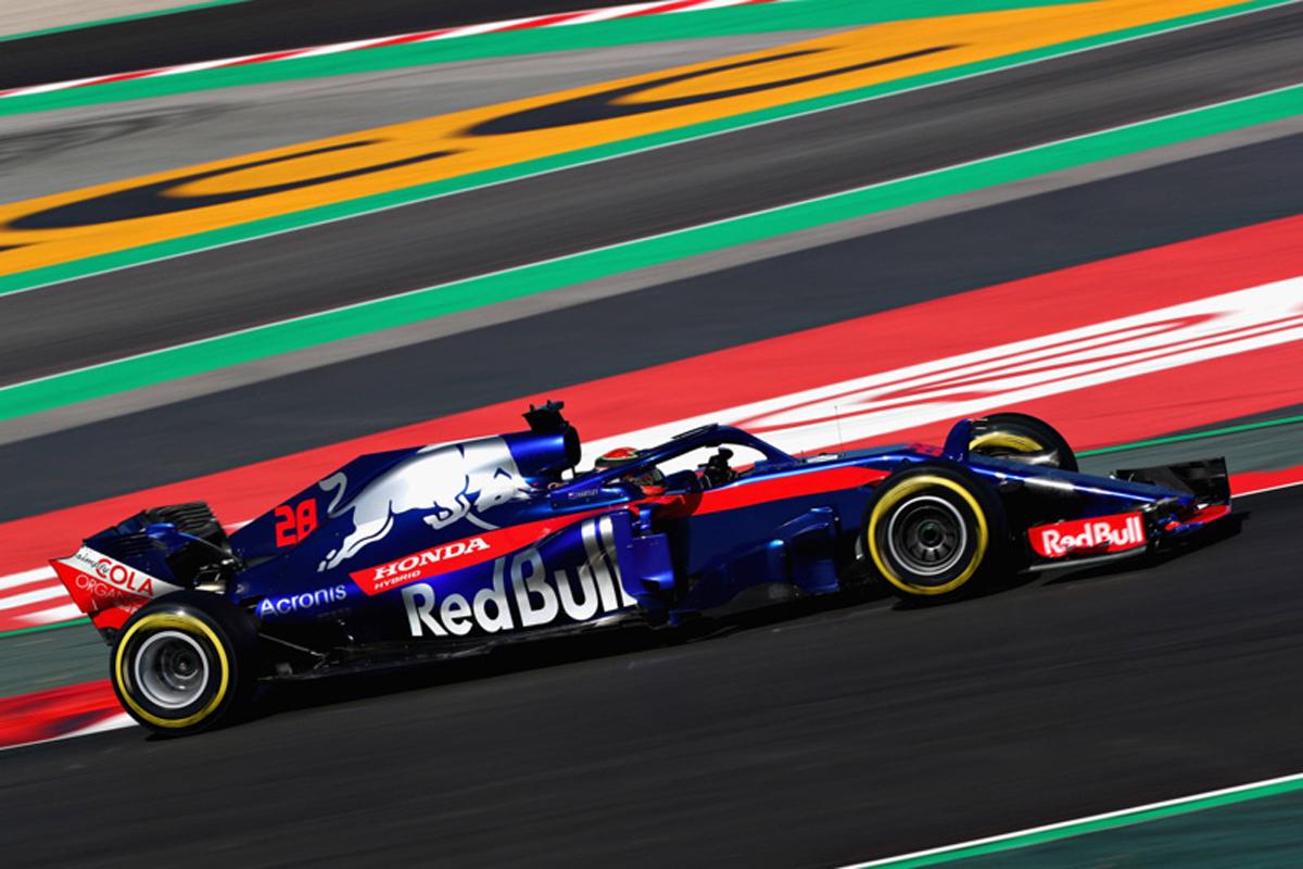 F1 トロロッソ ホンダF1 2018年のF1世界選手権 本田技研工業 カタロニア・サーキット