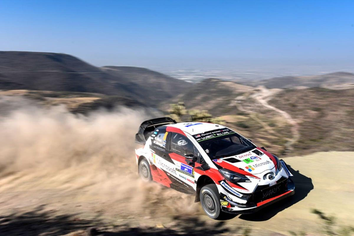 トヨタ自動車 世界ラリー選手権 ラリー・メキシコ
