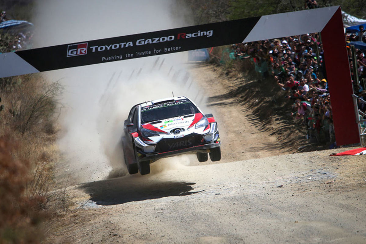 トヨタ自動車 世界ラリー選手権 WRC ラリー・メキシコ トヨタ・ヤリスWRC