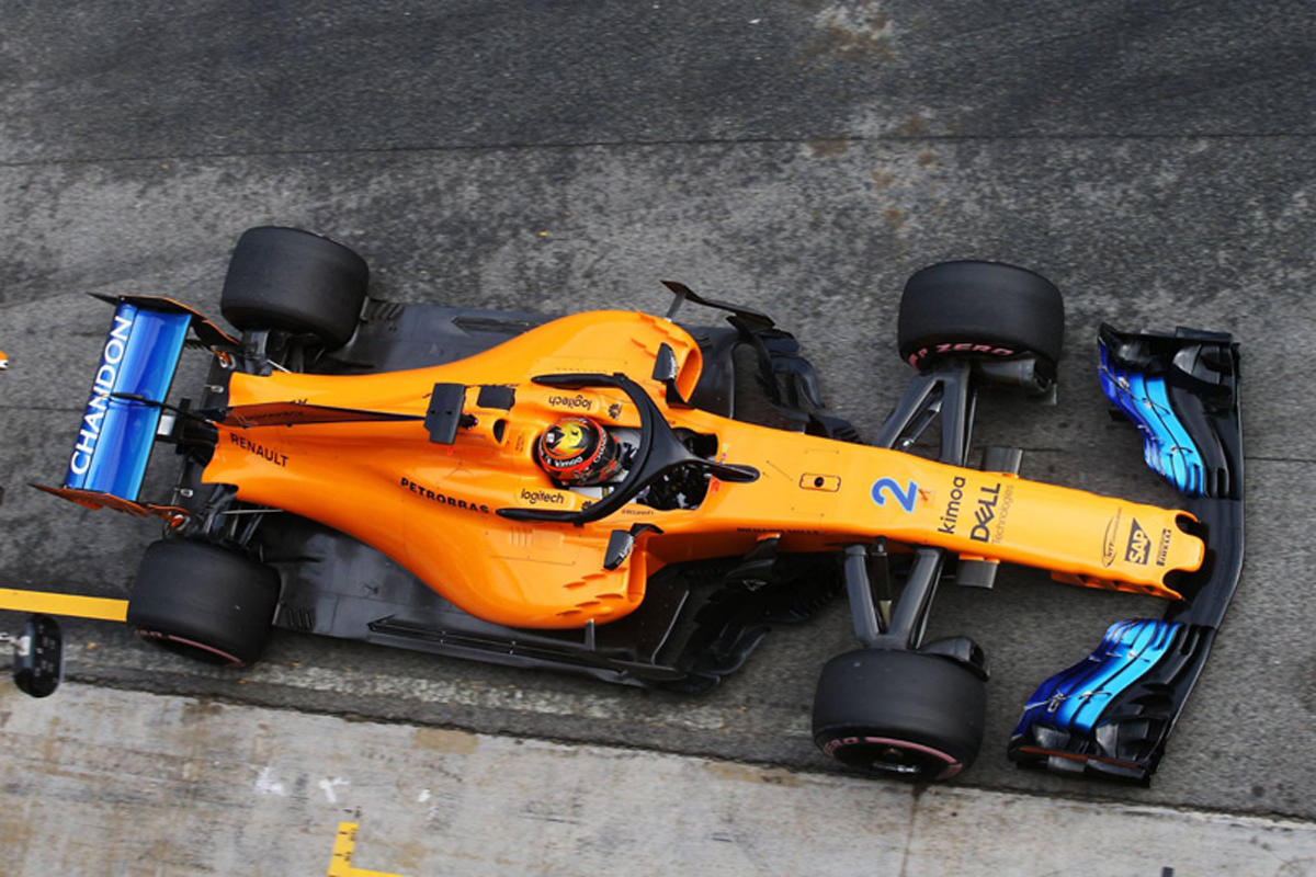 F1 マクラーレン 2018年のF1世界選手権 ルノーF1