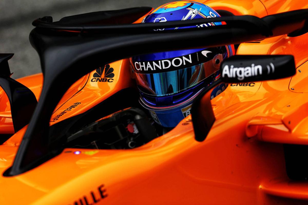 F1 フェルナンド・アロンソ マクラーレン 2018年のF1世界選手権