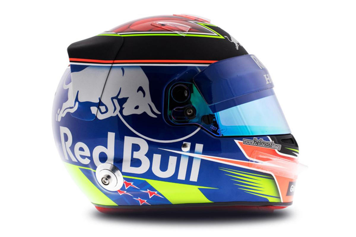 ブレンドン・ハートレイ 2018年 F1ヘルメット 写真