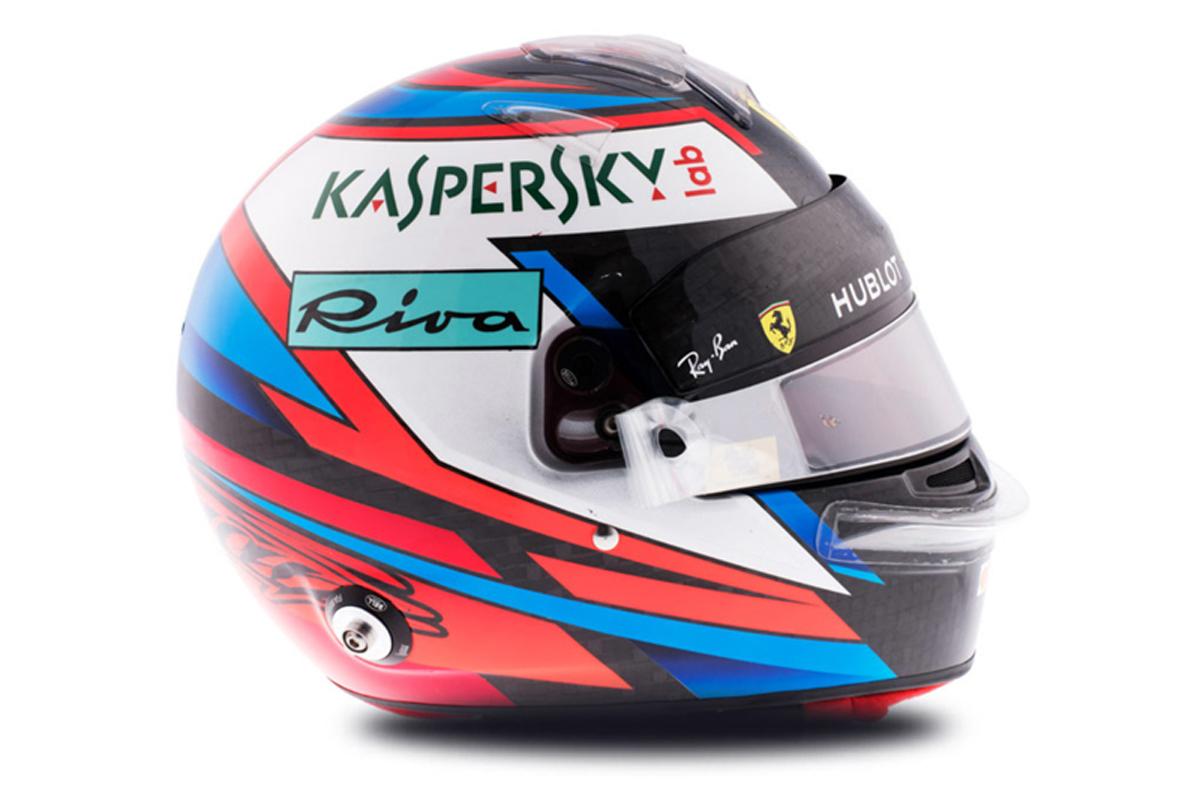 キミ・ライコネン 2018年 F1ヘルメット 写真
