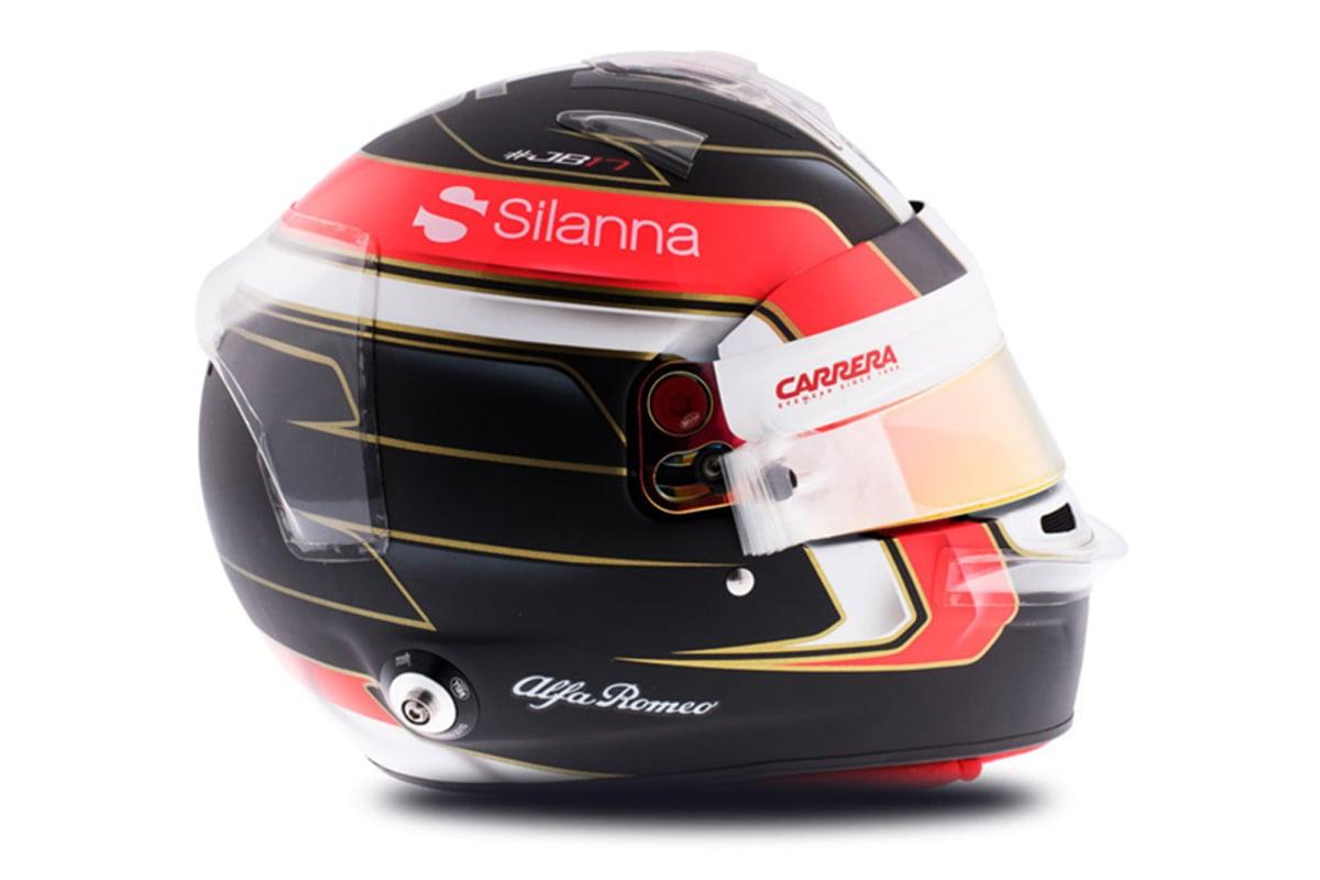 シャルル・ルクレール 2018年 F1ヘルメット 写真