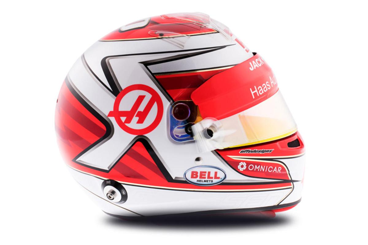ケビン・マグヌッセン 2018年 F1ヘルメット 写真