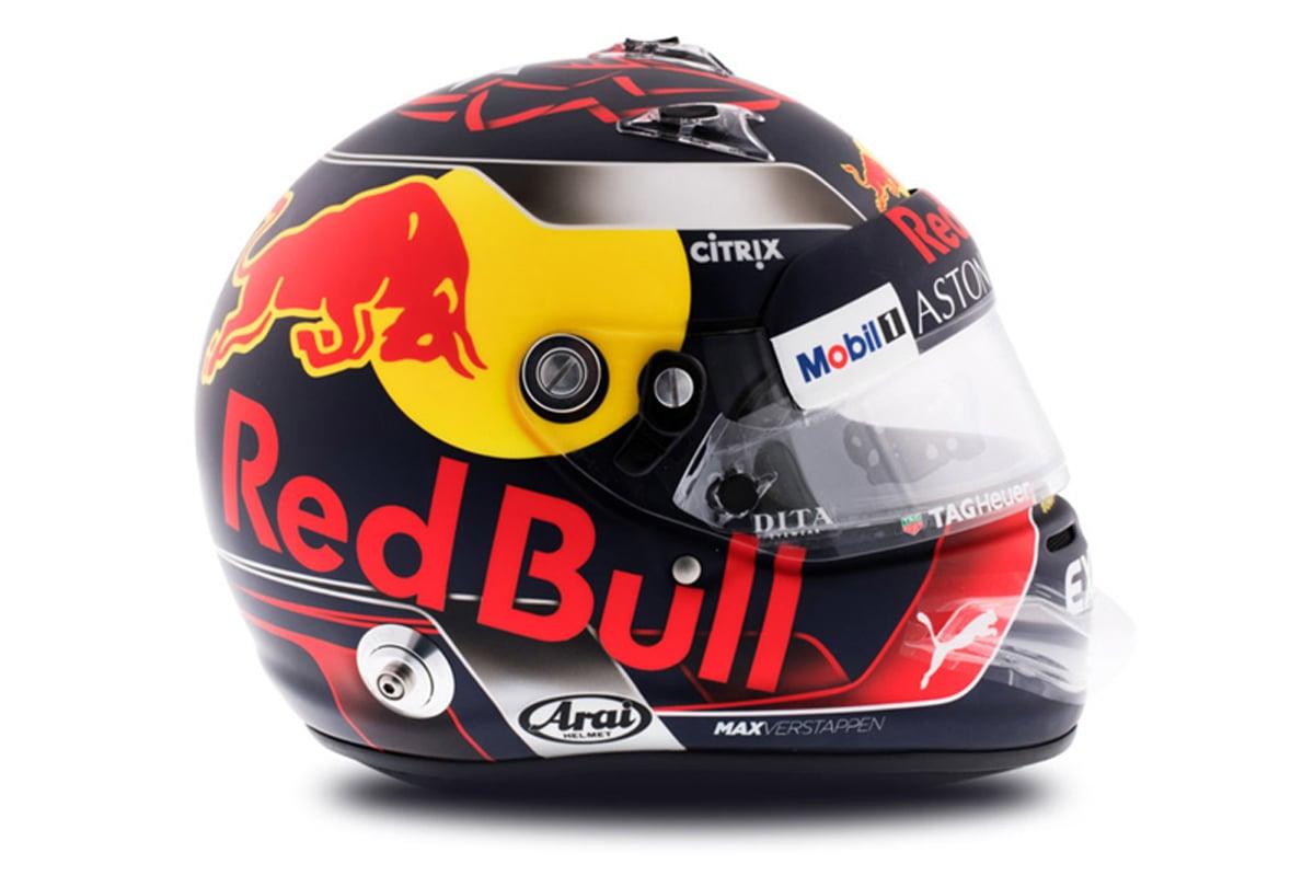 マックス・フェルスタッペン 2018年 F1ヘルメット 写真