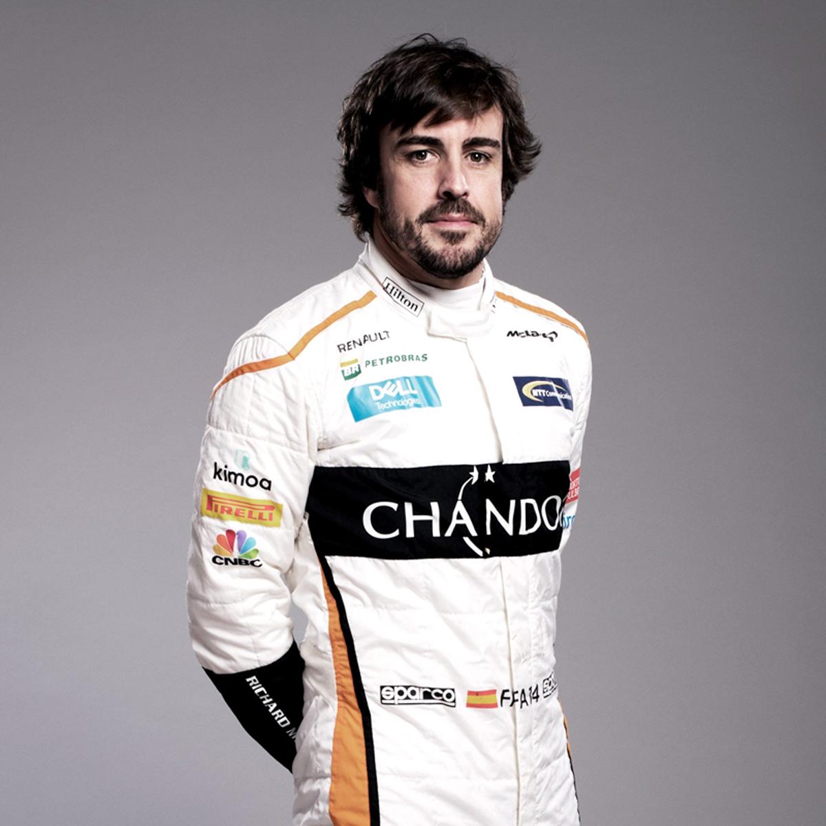 フェルナンド・アロンソ(マクラーレン):2018年 F1レーシングスーツ