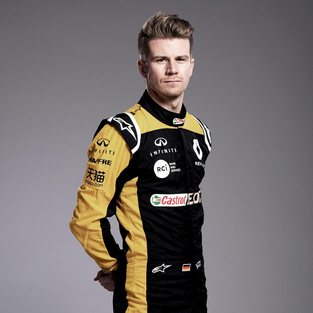 ニコ・ヒュルケンベルグ(ルノー):2018年 F1レーシングスーツ