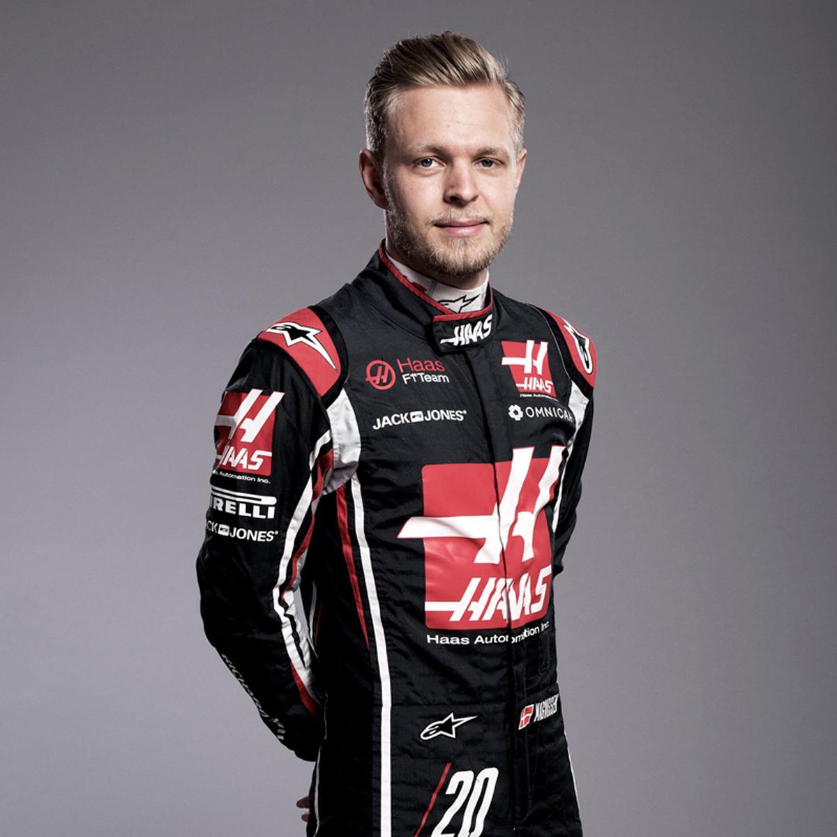 ケビン・マグヌッセン(ハース):2018年 F1レーシングスーツ