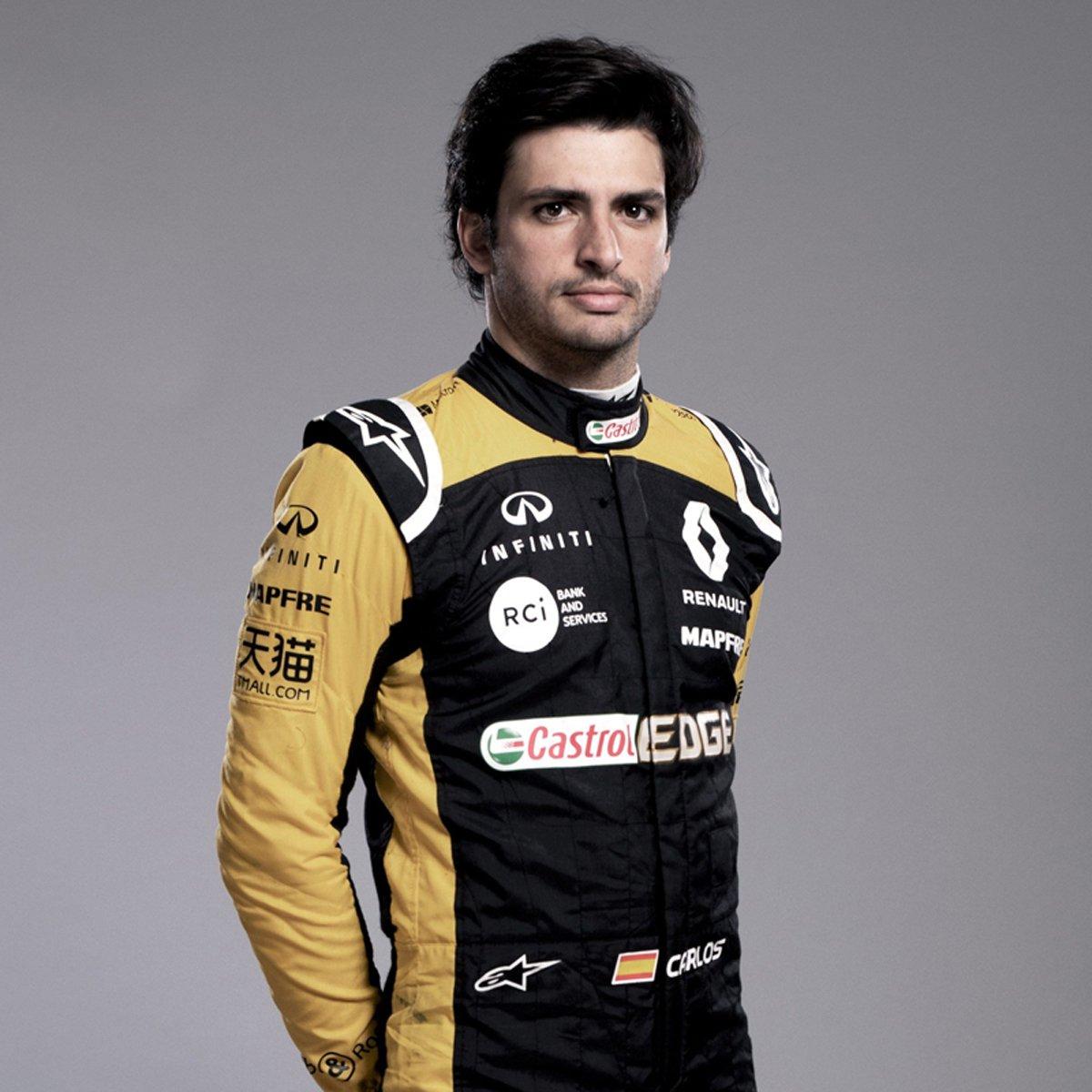 カルロス・サインツ(ルノー):2018年 F1レーシングスーツ