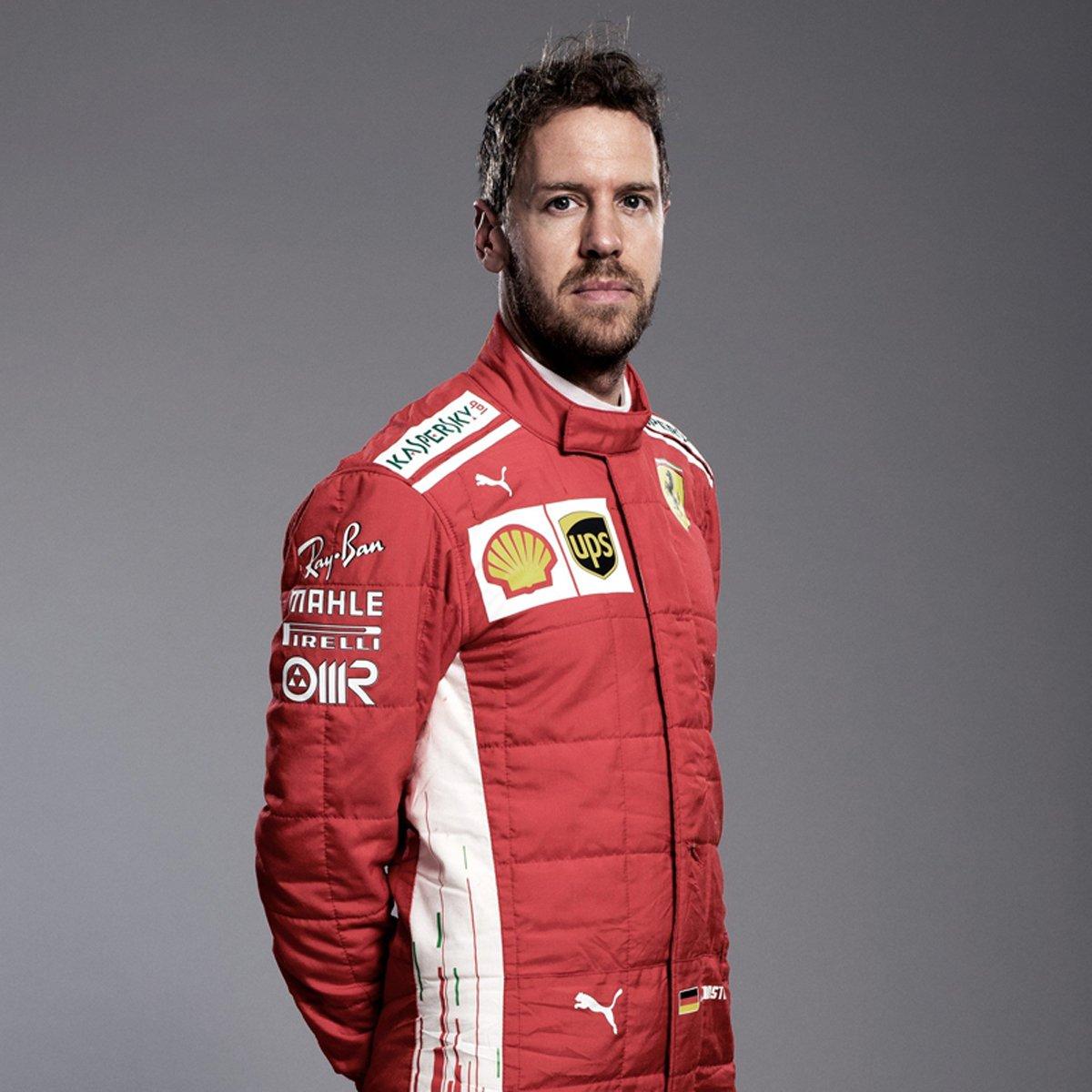 セバスチャン・ベッテル(フェラーリ):2018年 F1レーシングスーツ