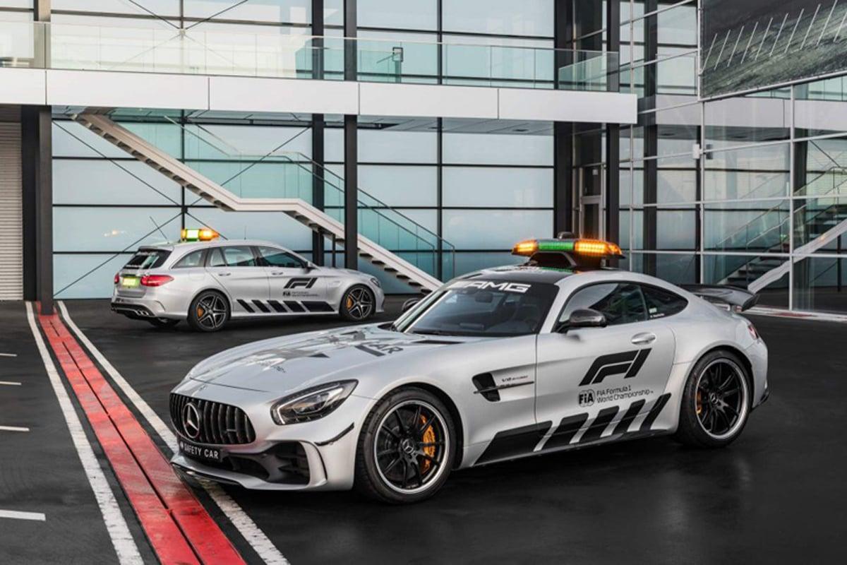 2018年 F1セーフティカー | メルセデスAMG GT R 画像04