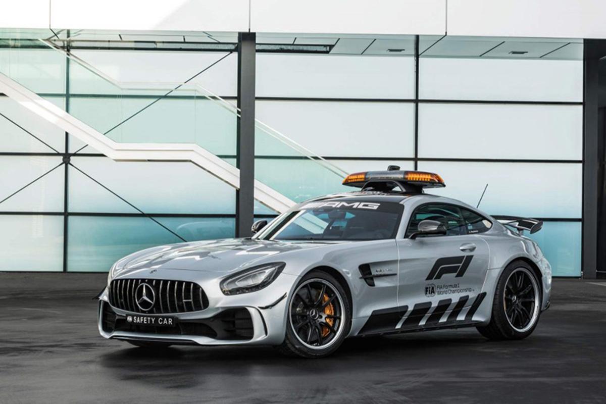 2018年 F1セーフティカー | メルセデスAMG GT R 画像05