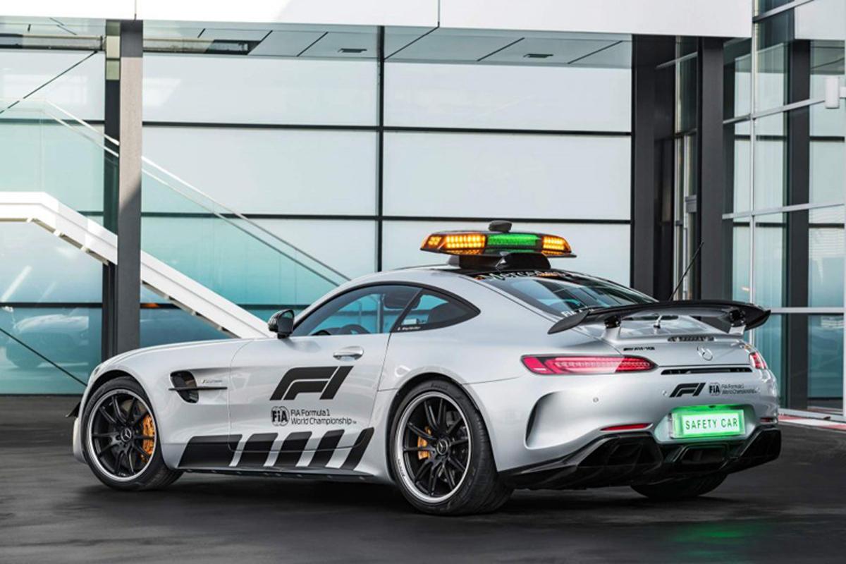 2018年 F1セーフティカー | メルセデスAMG GT R 画像06