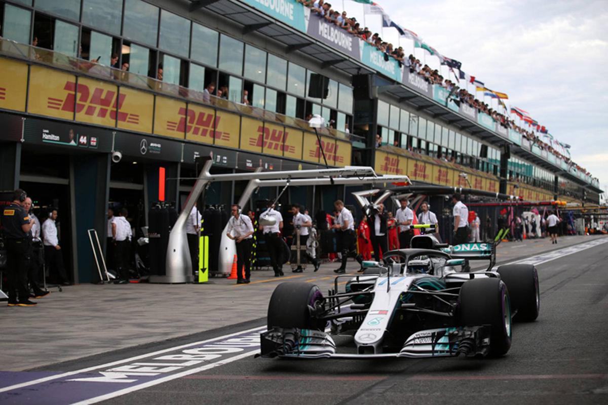F1 メルセデス バルテリ・ボッタス オーストラリアグランプリ