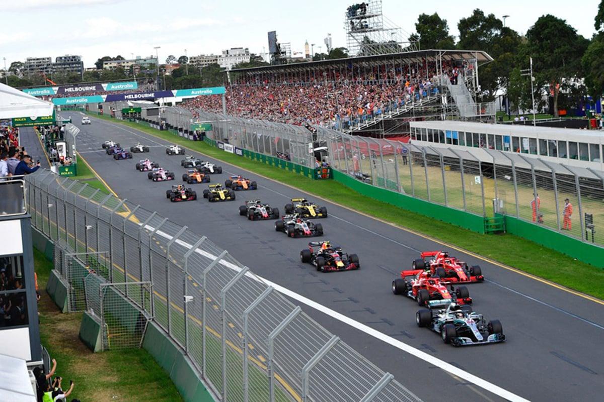 F1 2018年のF1世界選手権 開幕戦 オーストラリアグランプリ