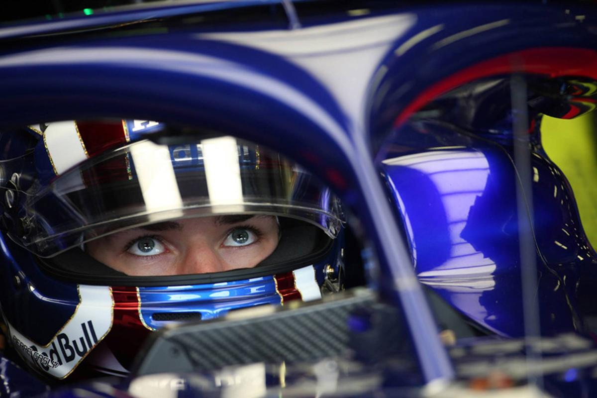 F1 トロロッソ ピエール・ガスリー 2018年のF1世界選手権