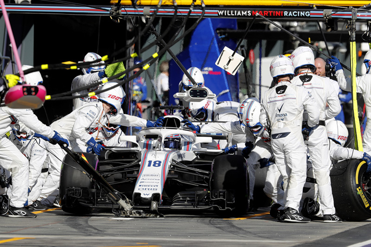 F1 ウィリアムズF1 オーストラリアグランプリ 2018年のF1世界選手権