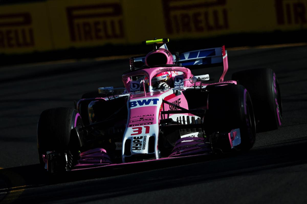 F1 フォース・インディア 2018年のF1世界選手権