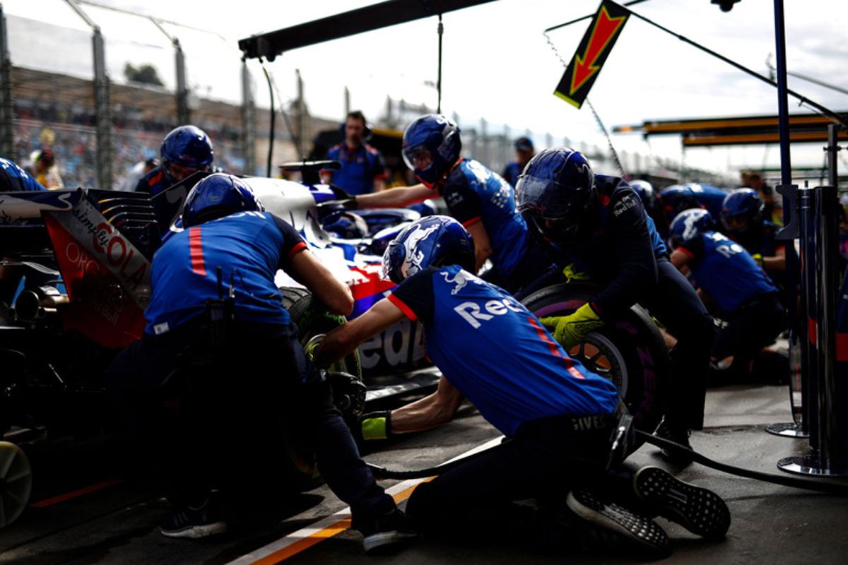 F1 トロロッソ ホンダF1 オーストラリアグランプリ