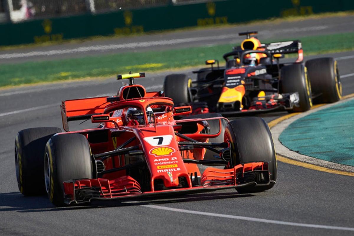 F1 レッドブル・レーシング ルノーF1 2018年のF1世界選手権