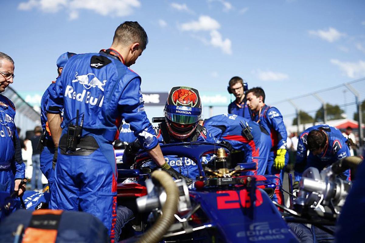 F1 トロロッソ ブレンドン・ハートレー