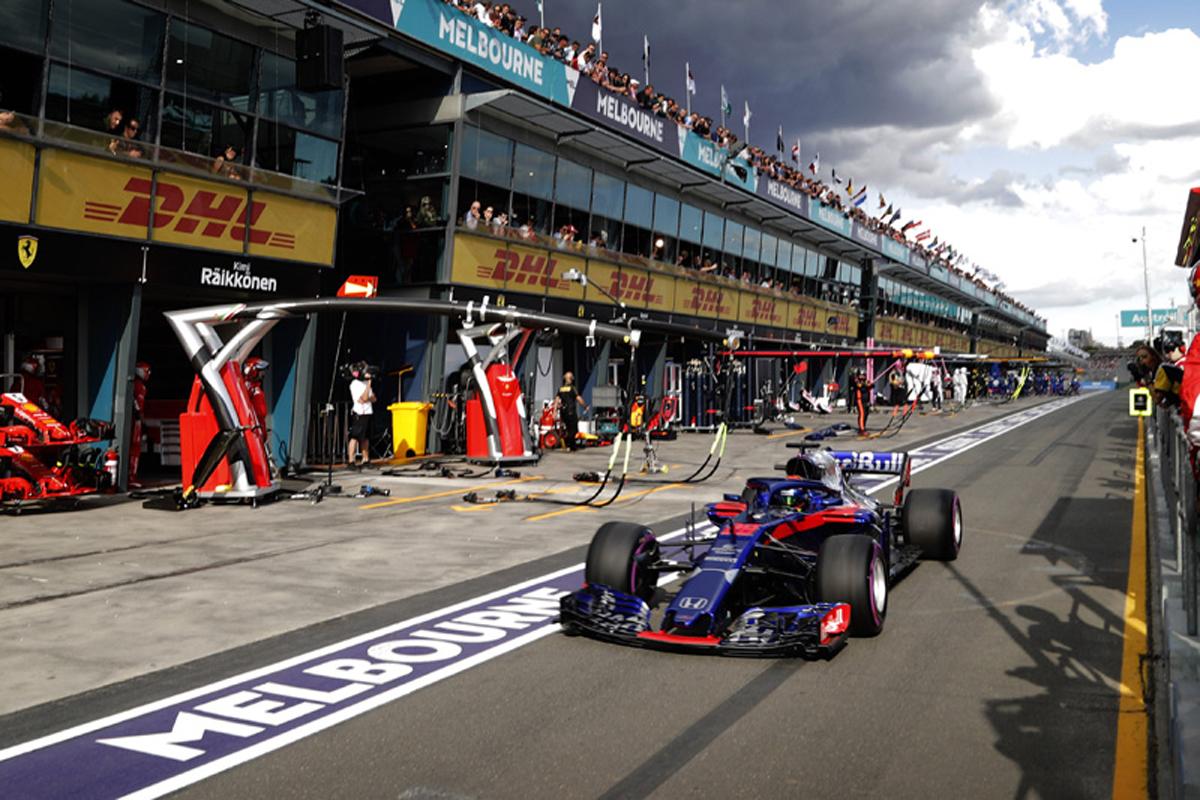 F1 ブレンドン・ハートレー トロロッソ オーストラリアグランプリ 2018年のF1世界選手権