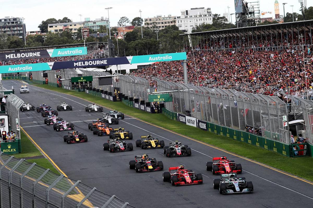 F1 リバティメディア オーストラリアグランプリ