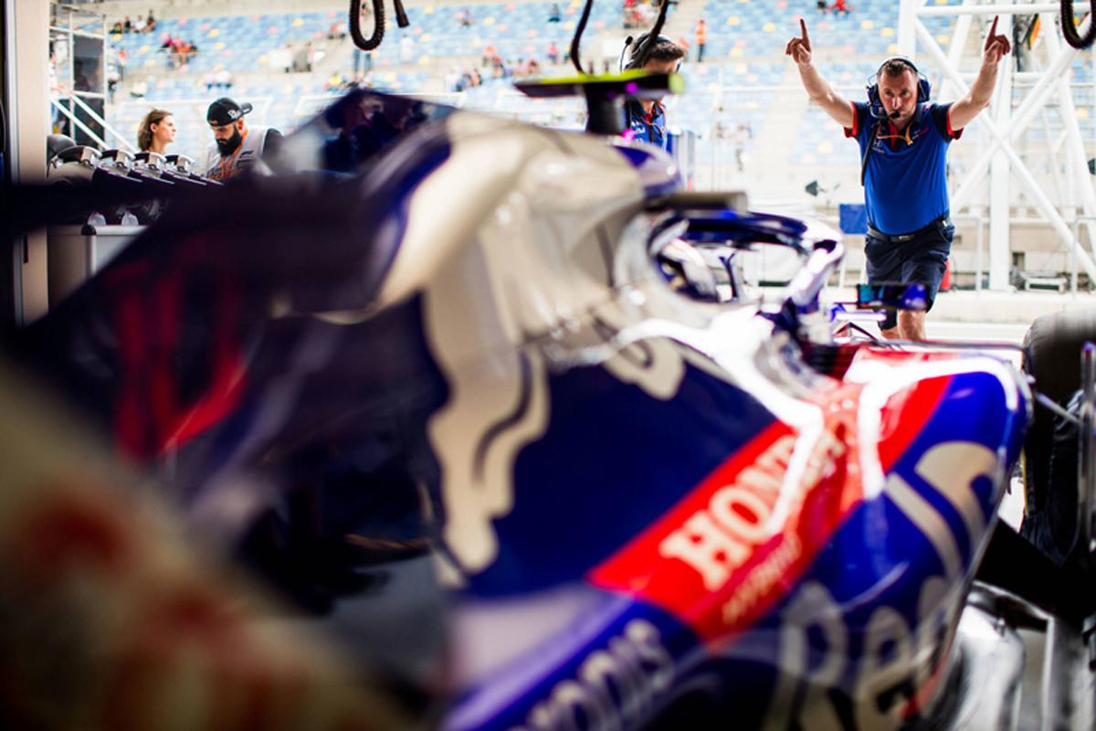 F1 トロロッソ ホンダF1 バーレーングランプリ 2018年のF1世界選手権