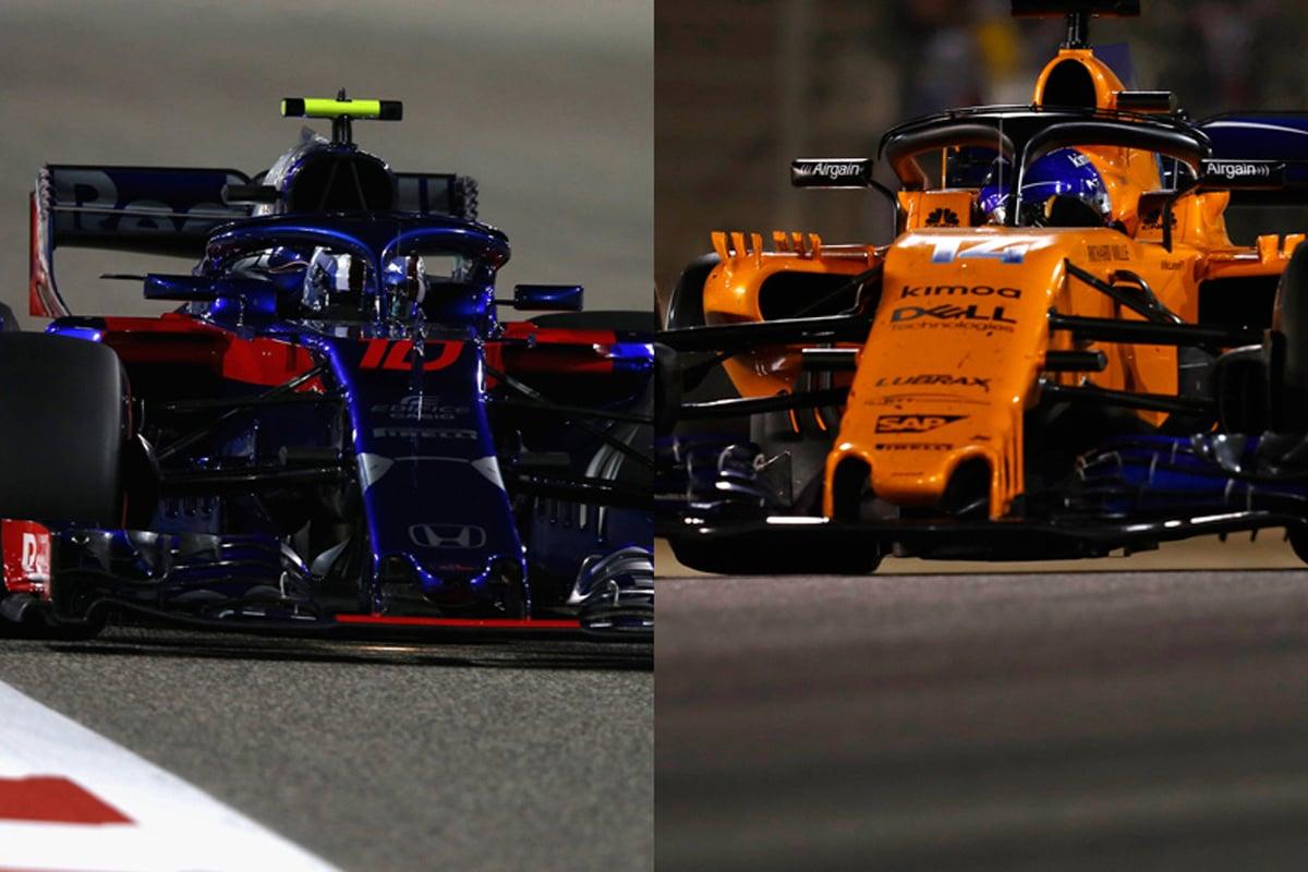 F1 トロロッソ マクラーレン