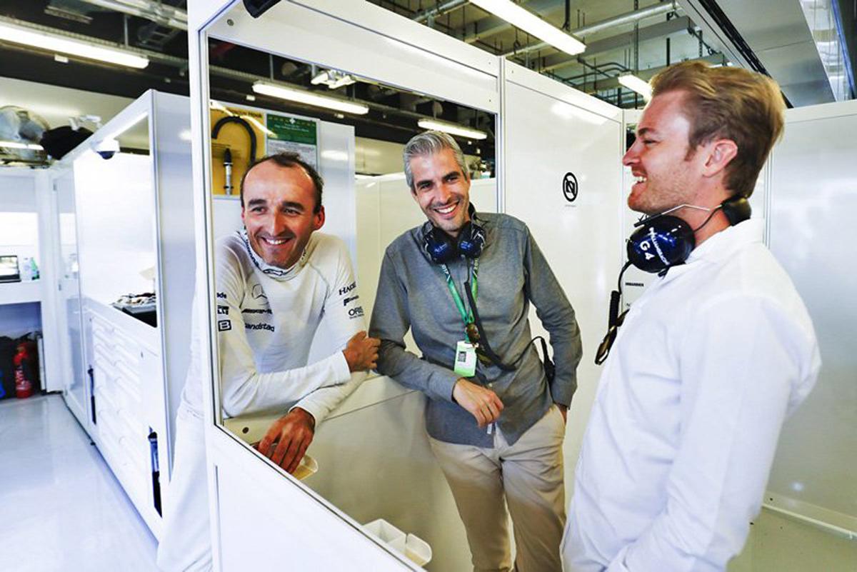 F1 ロバート・クビサ ウィリアムズF1 ニコ・ロズベルグ