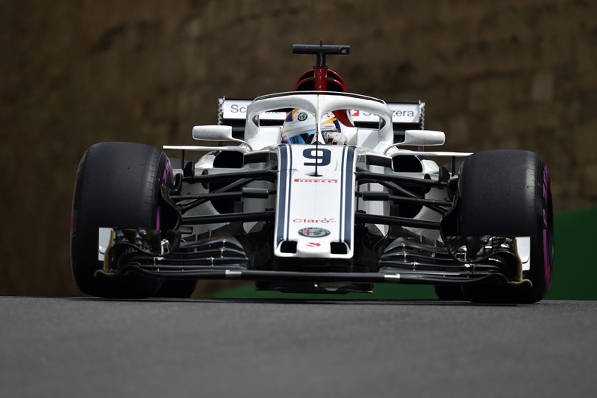 F1 ザウバー アゼルバイジャンGP 2018年のF1世界選手権