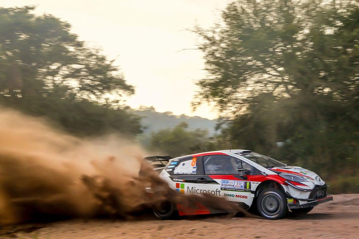 世界ラリー選手権 ラリー・アルゼンティーナ トヨタ自動車