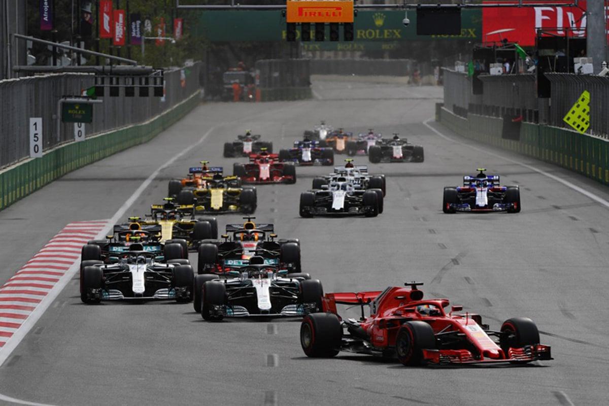 F1 アゼルバイジャンGP 2018年のF1世界選手権 バクー市街地コース