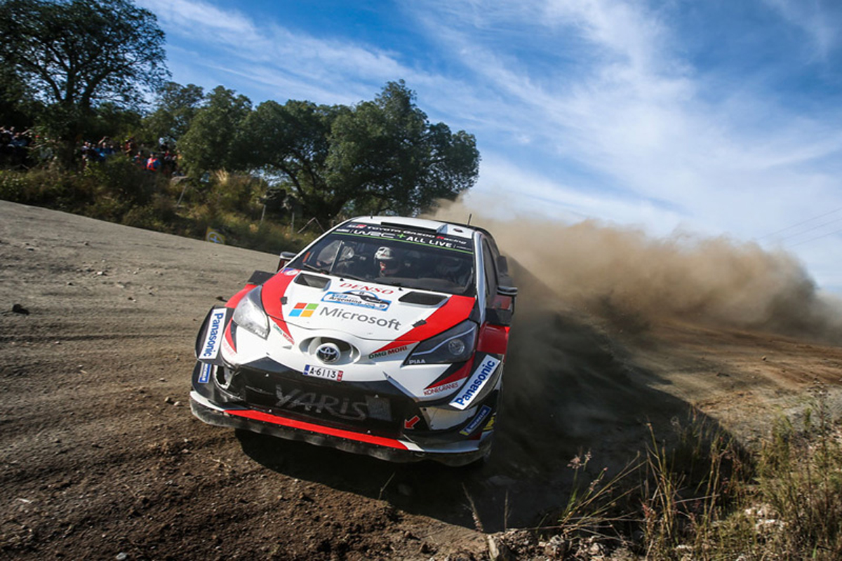 WRC 世界ラリー選手権 オット・タナック ラリー・アルゼンティーナ