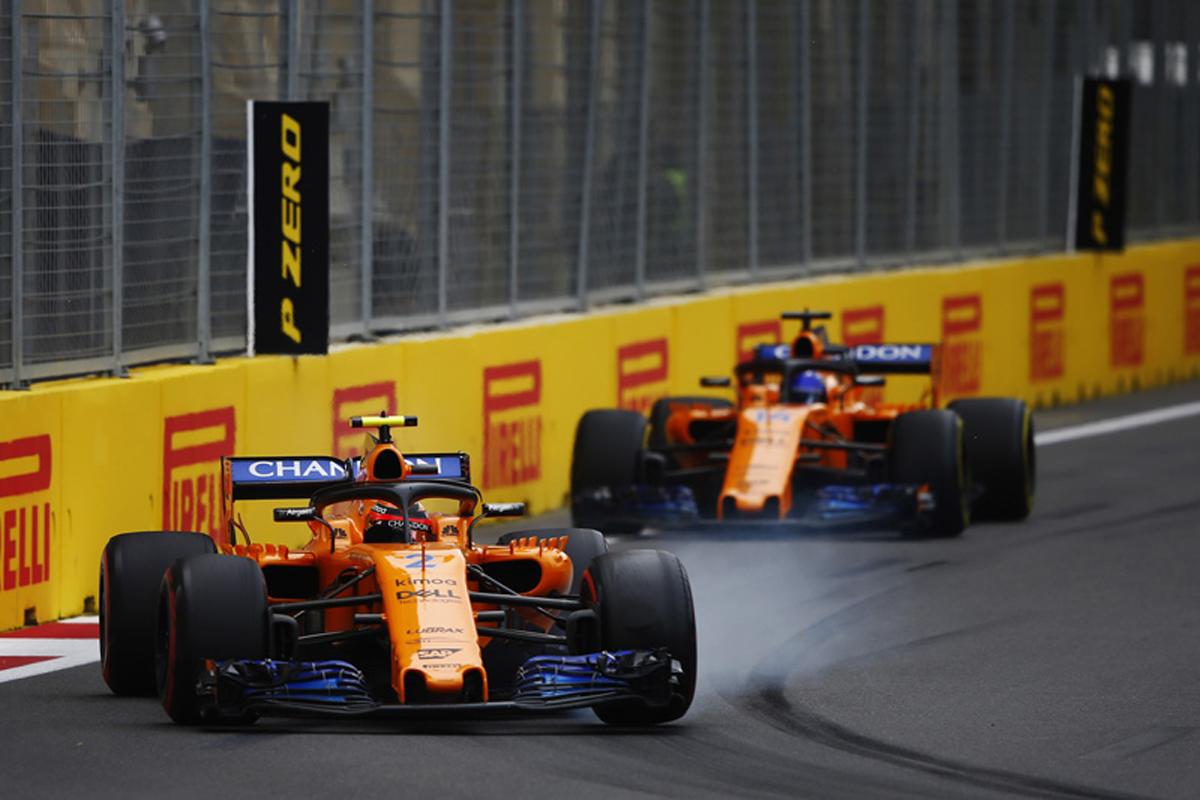 F1 マクラーレン アゼルバイジャンGP 2018年のF1世界選手権