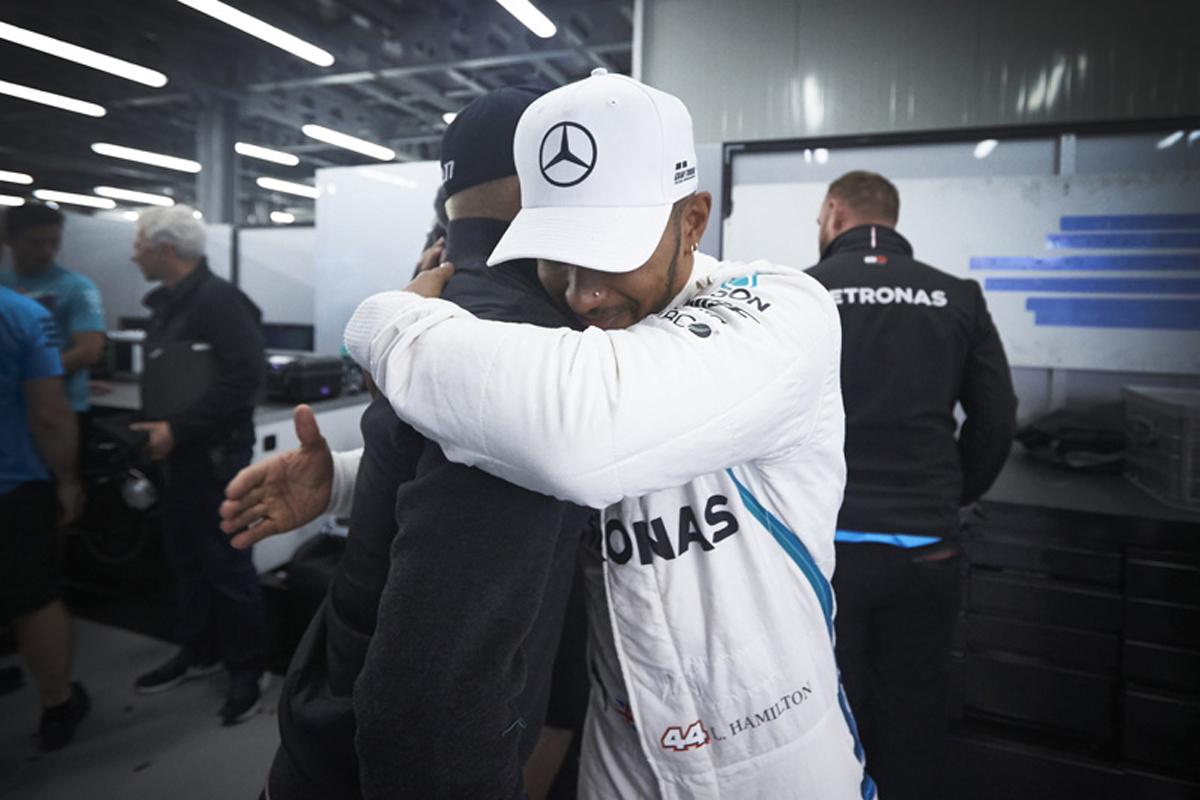 F1 メルセデスAMG F1 ルイス・ハミルトン アゼルバイジャンGP 2018年のF1世界選手権