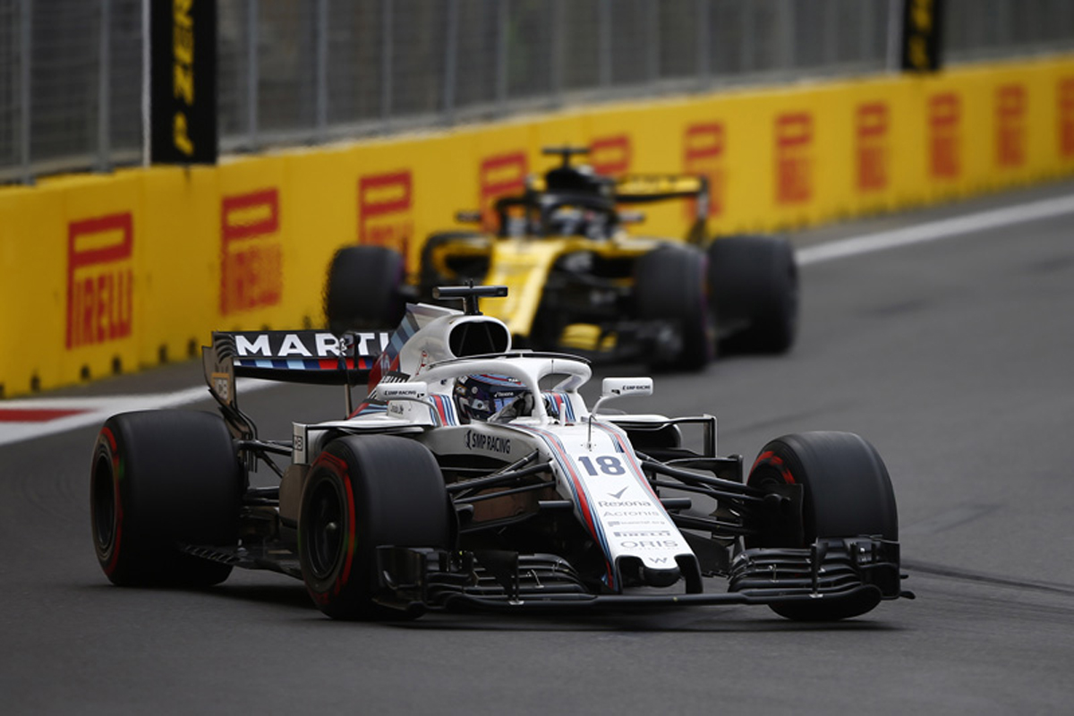 F1 ウィリアムズ アゼルバイジャンGP 2018年のF1世界選手権
