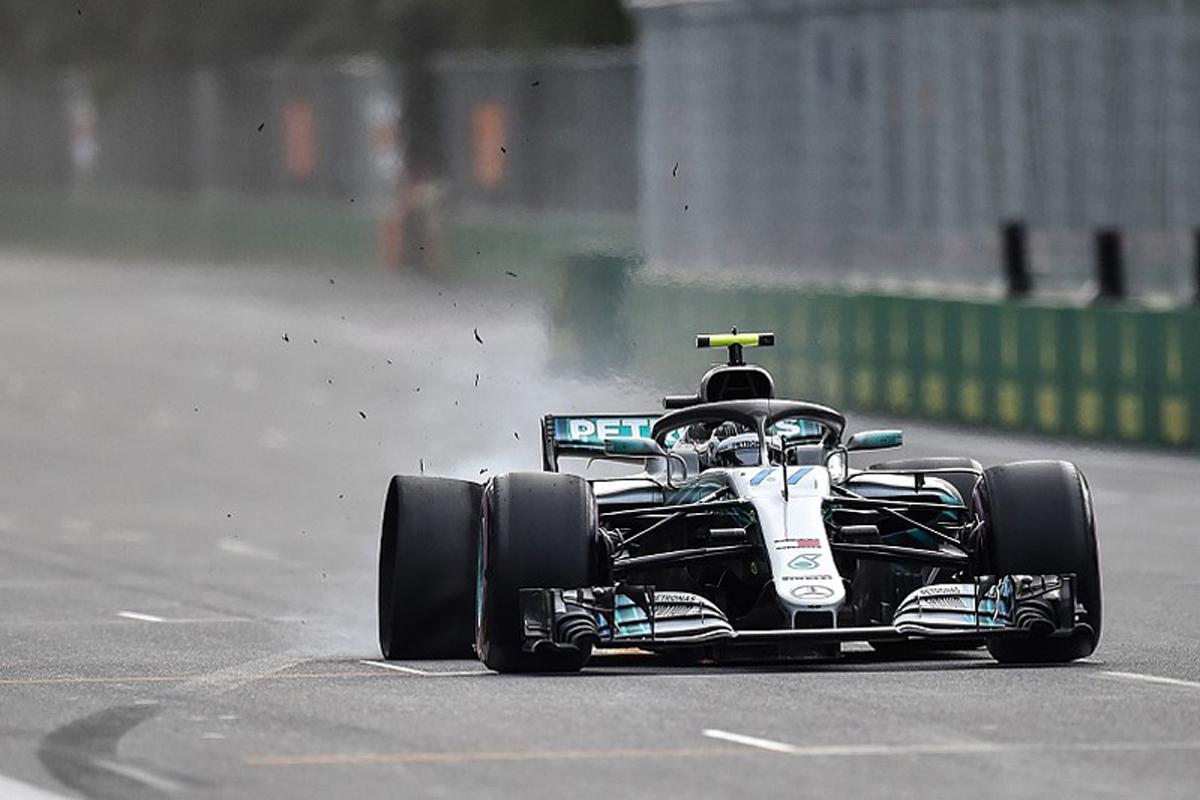 F1 バルテリ・ボッタス アゼルバイジャンGP 2018年のF1世界選手権 国際自動車連盟